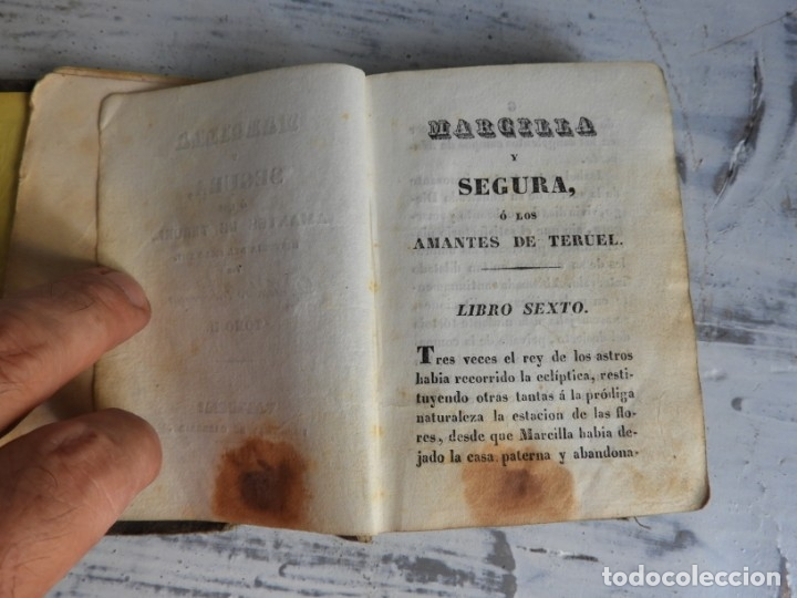 Libros antiguos: LIBRO LOS AMANTES DE TERUEL AÑO 1838 TOMO II IMPR. CABRERIZO - Foto 3 - 175357788