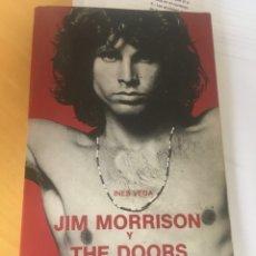 Libros antiguos: JIM MORRINSON Y THER DOORS. INÉS VEGA. ROCK POP CATEDRA.. Lote 176076909