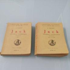 Libros antiguos: JACK. 2 VOLÚMENES. ALPHONSE DAUDET. MADRID, 1923. ED CALPE.. Lote 176742817