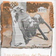 Libros antiguos: EL LIBRO POPULAR Nº 37. LOS CIGARRILLOS DEL DUQUE POR PEDRO MATA. AÑO 1913. Lote 177010985