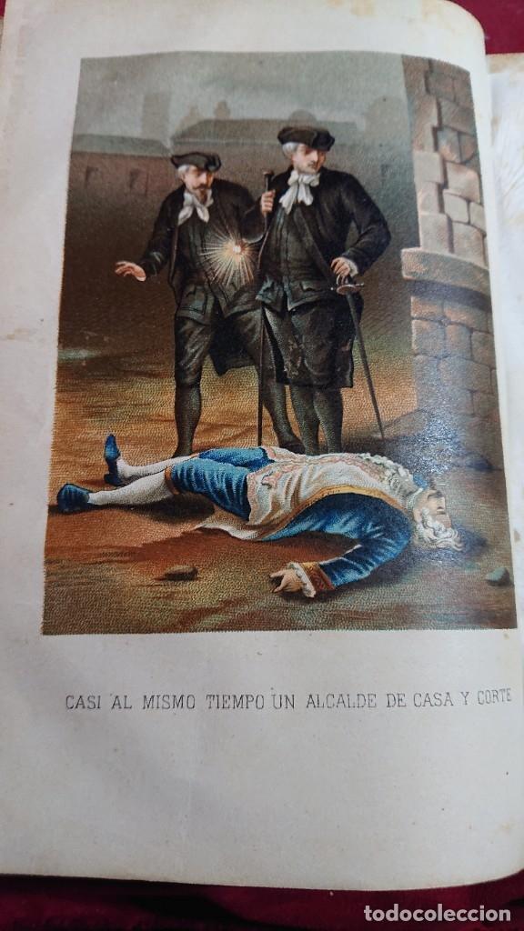 Libros antiguos: LOS CABALLEROS DEL AMOR MEMORIAS DEL REINADO DE CARLOS III POR ALVARO CARRILLO TOMO I Y II AÑO 1878 - Foto 5 - 178866322
