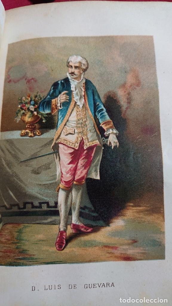 Libros antiguos: LOS CABALLEROS DEL AMOR MEMORIAS DEL REINADO DE CARLOS III POR ALVARO CARRILLO TOMO I Y II AÑO 1878 - Foto 13 - 178866322