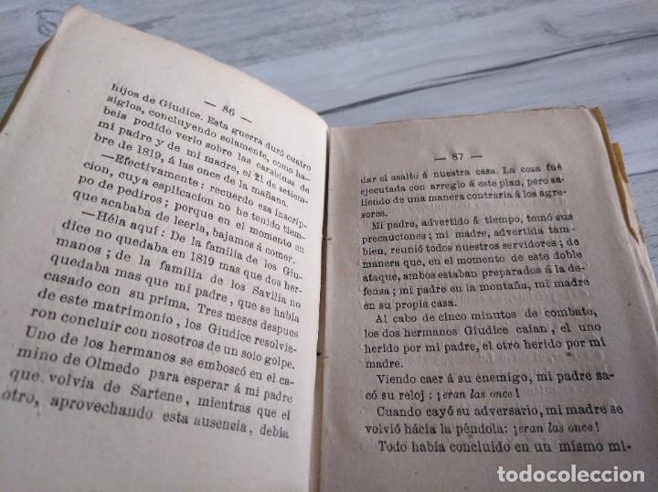 Libros antiguos: LOS HERMANOS CORSOS (1863) - ALEJANDRO DUMAS - Foto 4 - 179327882