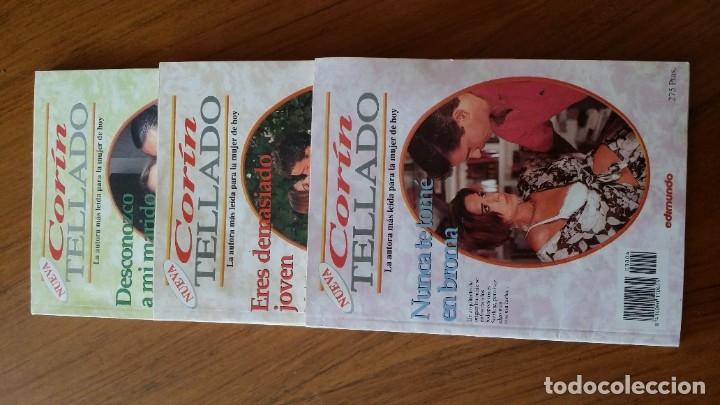 LOTE 3 LIBROS CORIN TELLADO EDIMUNDO NOVELA ROMANTICA PARA LA MUJER DE HOY (Libros antiguos (hasta 1936), raros y curiosos - Literatura - Narrativa - Novela Romántica)
