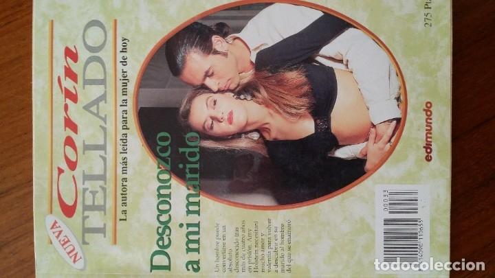 Libros antiguos: LOTE 3 LIBROS CORIN TELLADO EDIMUNDO NOVELA ROMANTICA PARA LA MUJER DE HOY - Foto 2 - 180044900