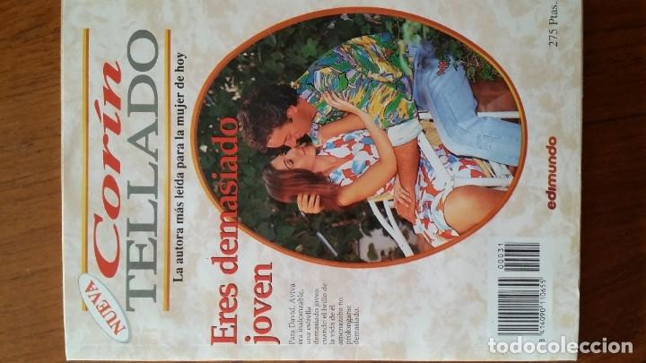 Libros antiguos: LOTE 3 LIBROS CORIN TELLADO EDIMUNDO NOVELA ROMANTICA PARA LA MUJER DE HOY - Foto 3 - 180044900