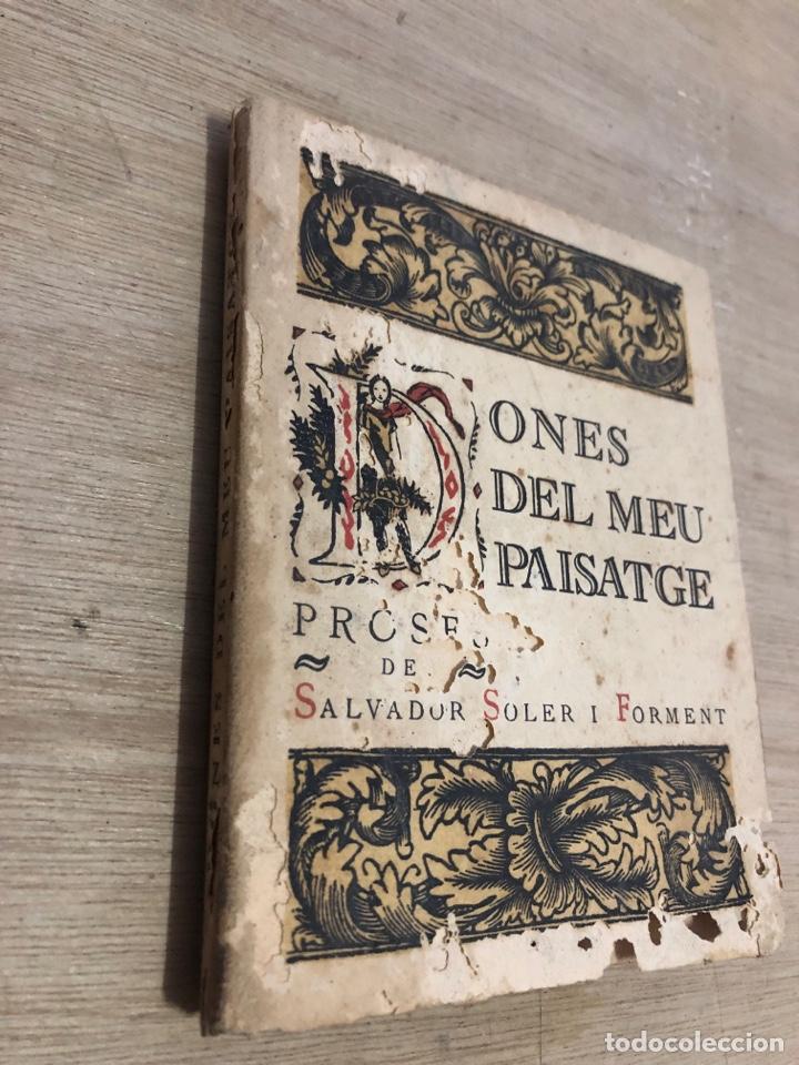 Libros antiguos: Dones del meu paisatge - Foto 2 - 181028372