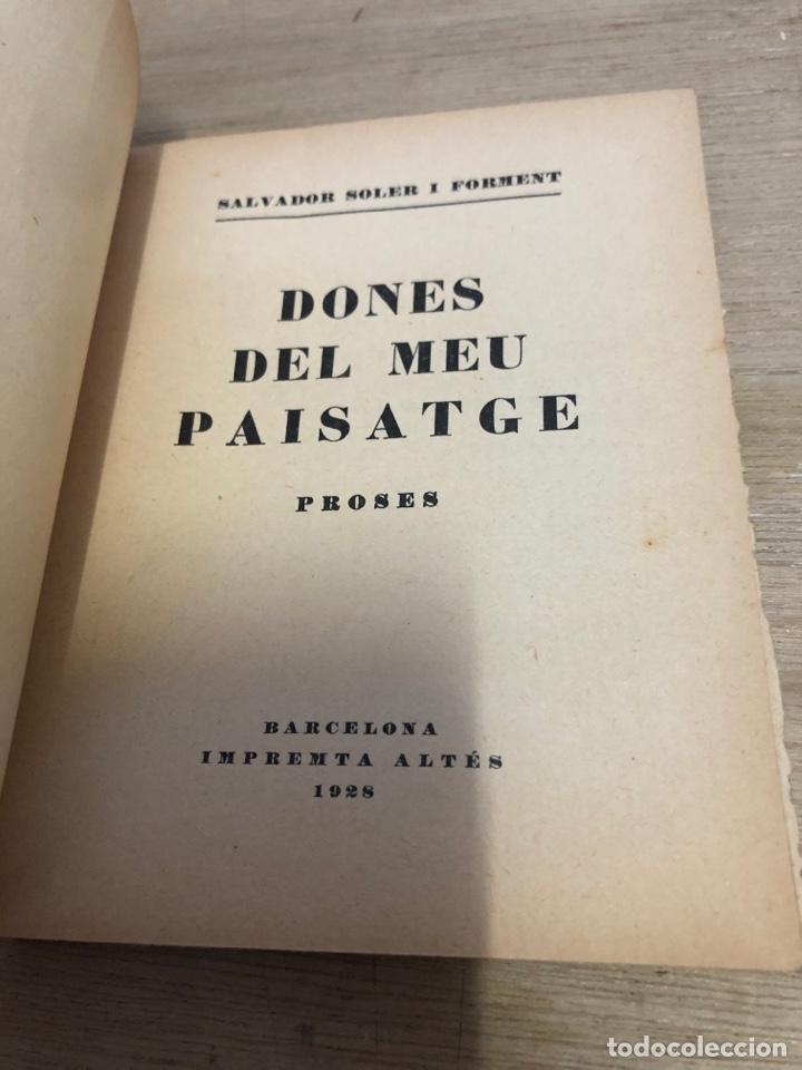 Libros antiguos: Dones del meu paisatge - Foto 3 - 181028372
