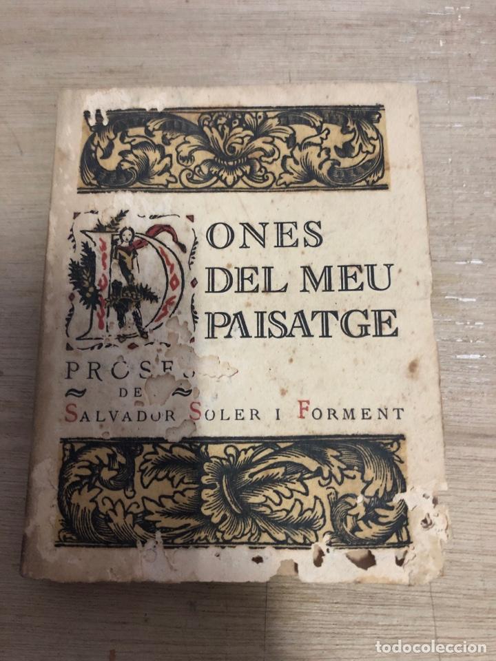 DONES DEL MEU PAISATGE (Libros antiguos (hasta 1936), raros y curiosos - Literatura - Narrativa - Novela Romántica)