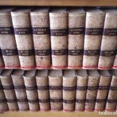 Libros antiguos: 124 NOVELAS ROSA PRIMERA EDICIÓN 1924 HASTA 1932 31 TOMOS 4 NOVELAS CADA UNO ENCUADERNADOS PIEL . Lote 181906148