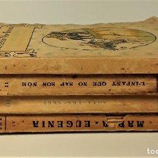 Libros antiguos: COL-LECCIÓ MON TRESOR. 4 EJEMPLARES. VV. AA. EDIT. BAGUÑA. BARCELONA. SIGLO XX.. Lote 182506877