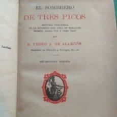 Libros antiguos: EL SOMBRERO DE TRES PICOS, ALARCÓN 1917. Lote 183281726