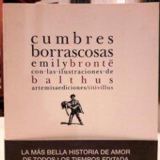 Libros antiguos: EMILY BRONTË - CUMBRES BORRASCOSAS. Lote 183434531