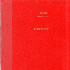 Libros antiguos: LA NOVELA ROSA. DEBER DE HIJO. MATILDE ALANIC. 1924.. Lote 218882096