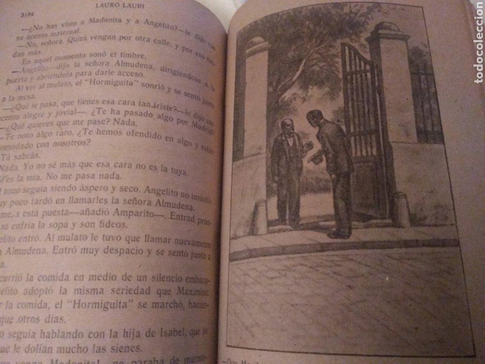 Libros antiguos: MADONITA (2 tomos gordos) FOLLETIN,NOVELA ROMANTICA . LAURO LAURI. PRINCIPIOS SIGLO XX (completa) - Foto 11 - 184805173