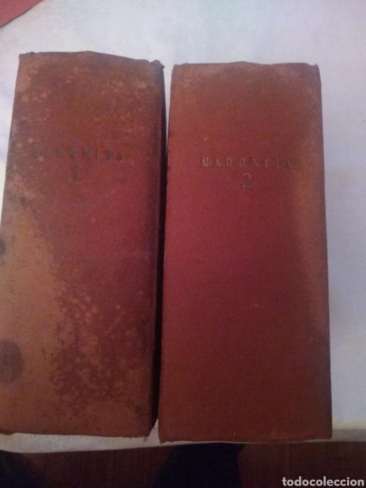 MADONITA (2 TOMOS GORDOS) FOLLETIN,NOVELA ROMANTICA . LAURO LAURI. PRINCIPIOS SIGLO XX (COMPLETA) (Libros antiguos (hasta 1936), raros y curiosos - Literatura - Narrativa - Novela Romántica)