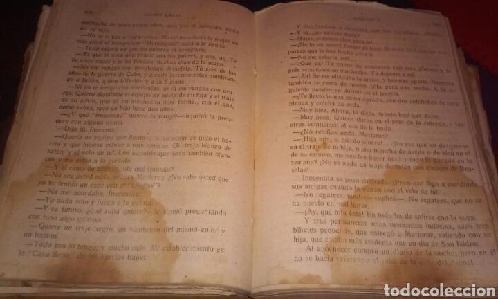 Libros antiguos: MADONITA (2 tomos gordos) FOLLETIN,NOVELA ROMANTICA . LAURO LAURI. PRINCIPIOS SIGLO XX (completa) - Foto 13 - 184805173