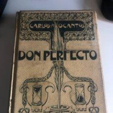 Libros antiguos: DON PERFECTO. Lote 186072425