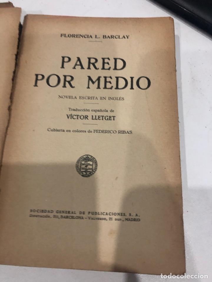 Libros antiguos: Pared por medio - Foto 2 - 187530525