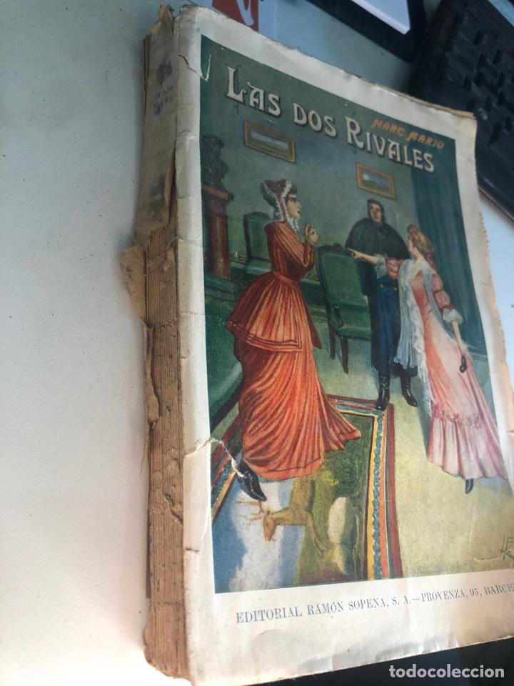 Libros antiguos: Las dos rivales - Foto 2 - 188804158