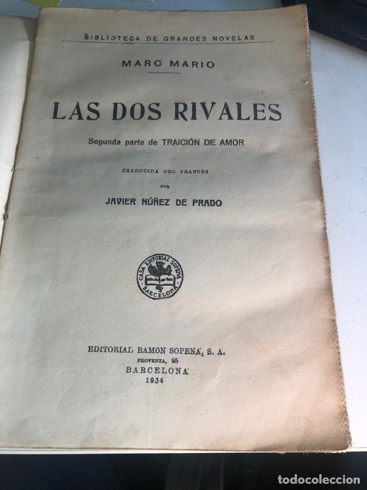 Libros antiguos: Las dos rivales - Foto 3 - 188804158
