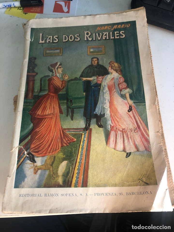 LAS DOS RIVALES (Libros antiguos (hasta 1936), raros y curiosos - Literatura - Narrativa - Novela Romántica)