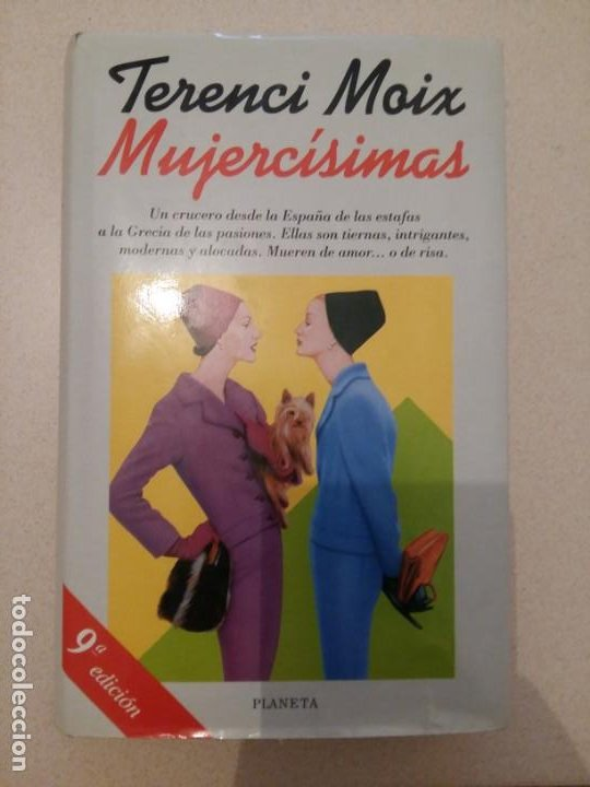 MUJERCISIMAS. TERENCI MOIX. (Libros antiguos (hasta 1936), raros y curiosos - Literatura - Narrativa - Novela Romántica)