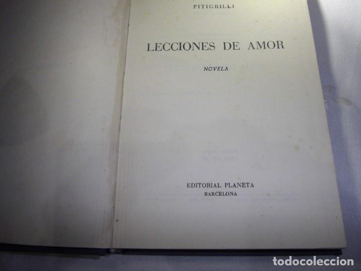 Libros antiguos: LECCIONES DE AMOR. DE PITIGRILLI. EDITORIAL PLANETA. PRIMERA EDICIÓN 1957 - Foto 4 - 189239583