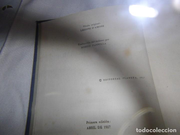 Libros antiguos: LECCIONES DE AMOR. DE PITIGRILLI. EDITORIAL PLANETA. PRIMERA EDICIÓN 1957 - Foto 6 - 189239583