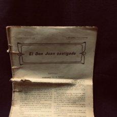 Libros antiguos: EL DON JUAN CASTIGADO F. GRANADA Y CIA EDIT FIN S XIX 29X22CMS. Lote 191992733
