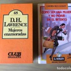 Libros antiguos: MUJERES ENAMORADAS. COMO SER FELIZ Y NO MORIR EN EL INTENTO. Lote 192746837