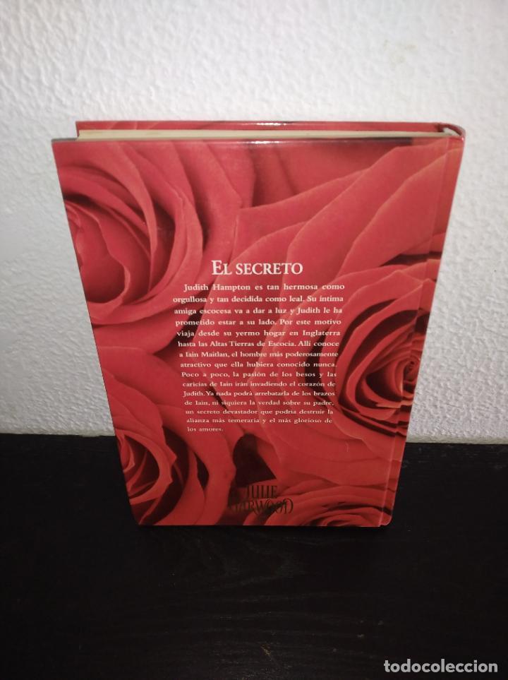 Libros antiguos: Julie Garwood el secreto novela tapa dura - Foto 3 - 192960196