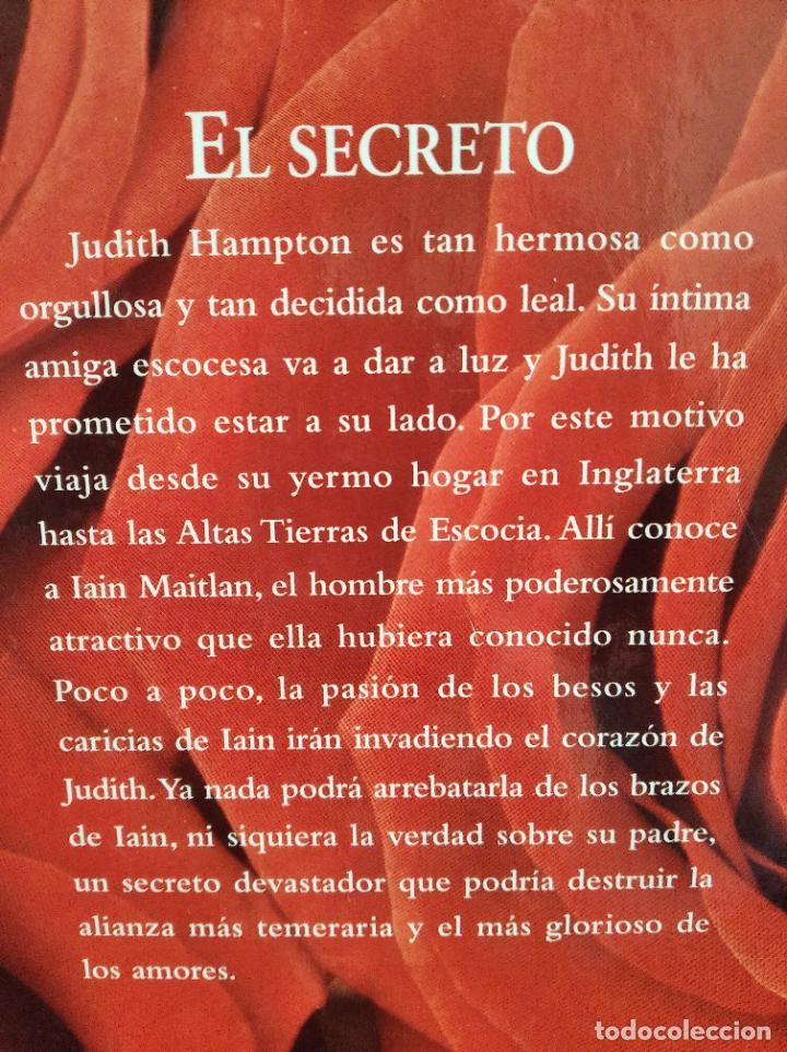 Libros antiguos: Julie Garwood el secreto novela tapa dura - Foto 4 - 192960196