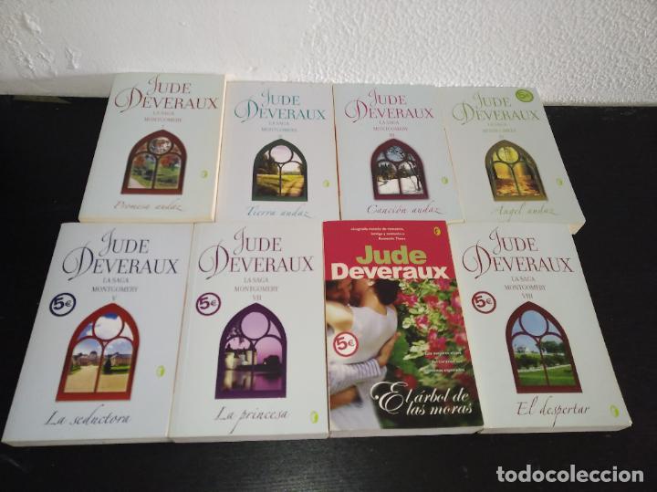 JUDE DEVERAUX LA SAGA MONTGOMERY LOTE DE 8 NOVELAS ROMÁNTICAS (Libros antiguos (hasta 1936), raros y curiosos - Literatura - Narrativa - Novela Romántica)