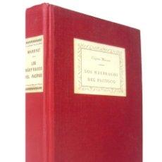 Livros antigos: 1928 - CAPITÁN MARRYAT: LOS NÁUFRAGOS DEL PACÍFICO - OBRA COMPLETA - CONSERVA CUBIERTAS ORIGINALES. Lote 193360297