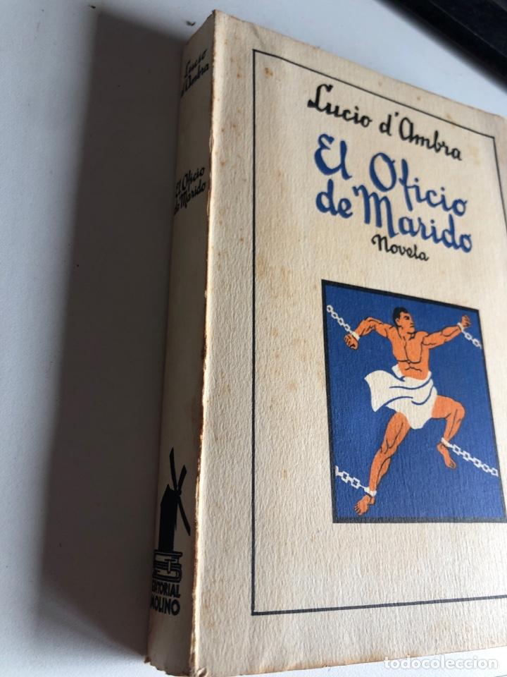 Libros antiguos: El oficio de mi marido - Foto 2 - 194296310