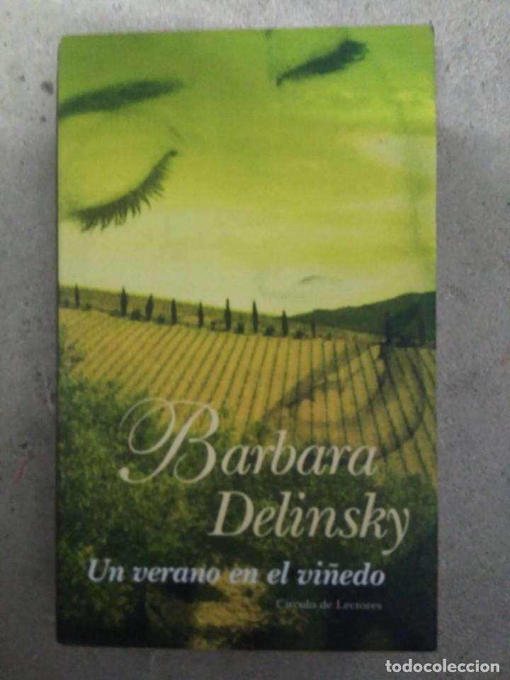 UN VERANO EN EL VIÑEDO, BÁRBARA DELINSKY (Libros antiguos (hasta 1936), raros y curiosos - Literatura - Narrativa - Novela Romántica)