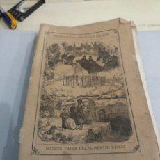 Libros antiguos: ANTONIO HURTADO CORTE Y CORTIJO 1870. Lote 194390761