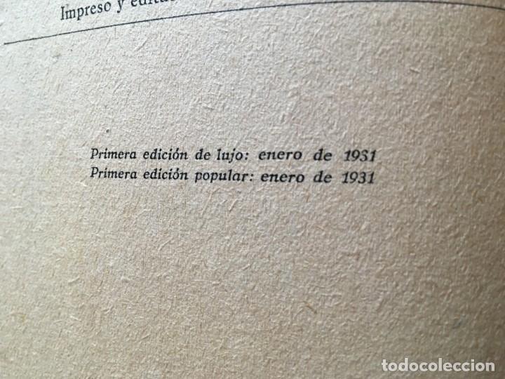 Libros antiguos: novela romantica,la belleza desconocida,año 1931 por alma viking - Foto 3 - 194407703