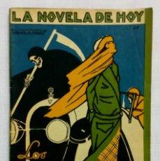 Libros antiguos: LOS OJOS VERDES DE OTILIA. LA NOVELA DE HOY 1923. EXCELENTE ESTADO!!!. Lote 194506060