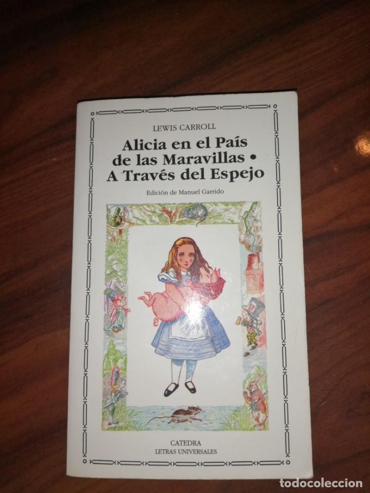 ALICIA EN A TRAVÉS DEL ESPEJO (Libros antiguos (hasta 1936), raros y curiosos - Literatura - Narrativa - Novela Romántica)
