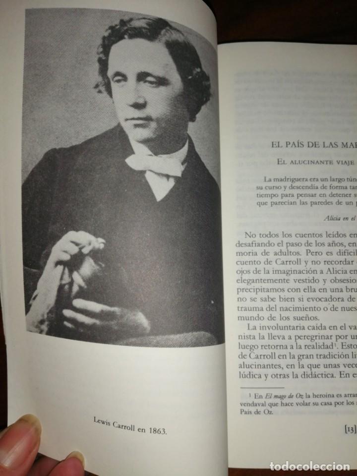 Libros antiguos: Alicia en a través del espejo - Foto 4 - 194698612
