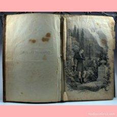 Libros antiguos: LIBRO ANTIGUO. ESPINAS DE UNA FLOR. NOVELA, 1862. Lote 194882775
