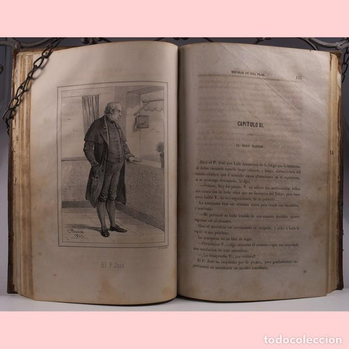 Libros antiguos: LIBRO ANTIGUO. ESPINAS DE UNA FLOR. NOVELA, 1862 - Foto 8 - 194882775