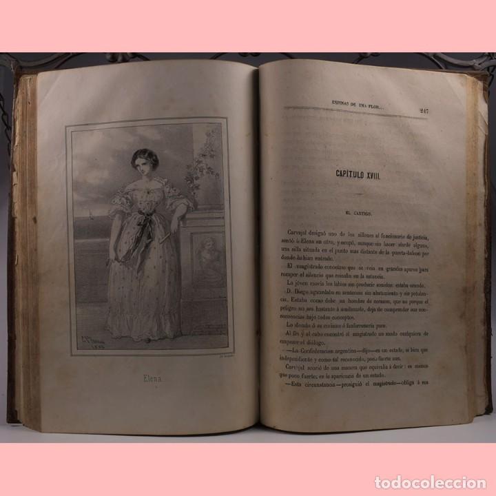 Libros antiguos: LIBRO ANTIGUO. ESPINAS DE UNA FLOR. NOVELA, 1862 - Foto 10 - 194882775