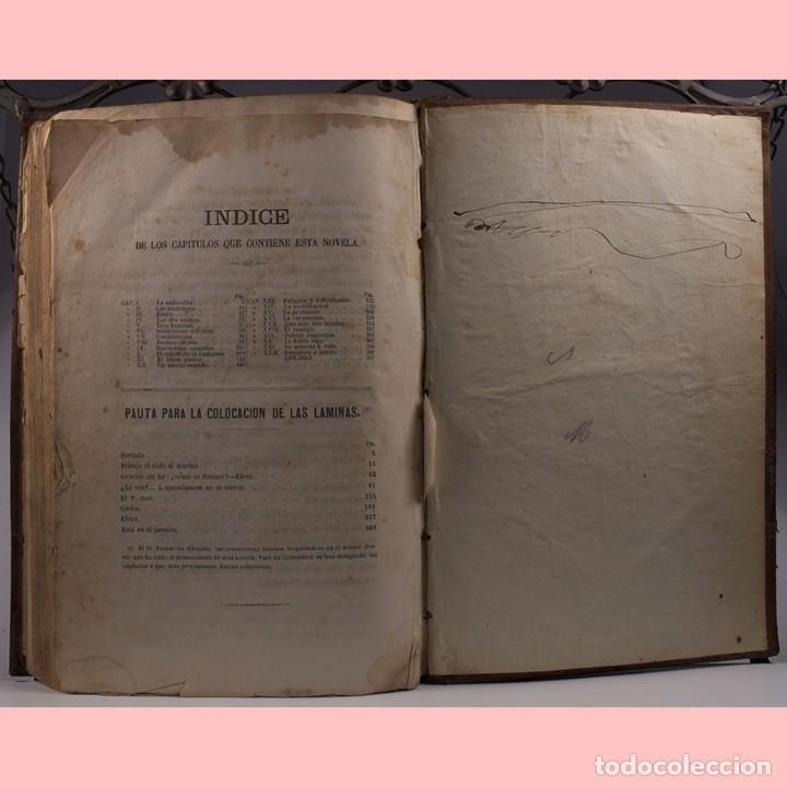 Libros antiguos: LIBRO ANTIGUO. ESPINAS DE UNA FLOR. NOVELA, 1862 - Foto 11 - 194882775