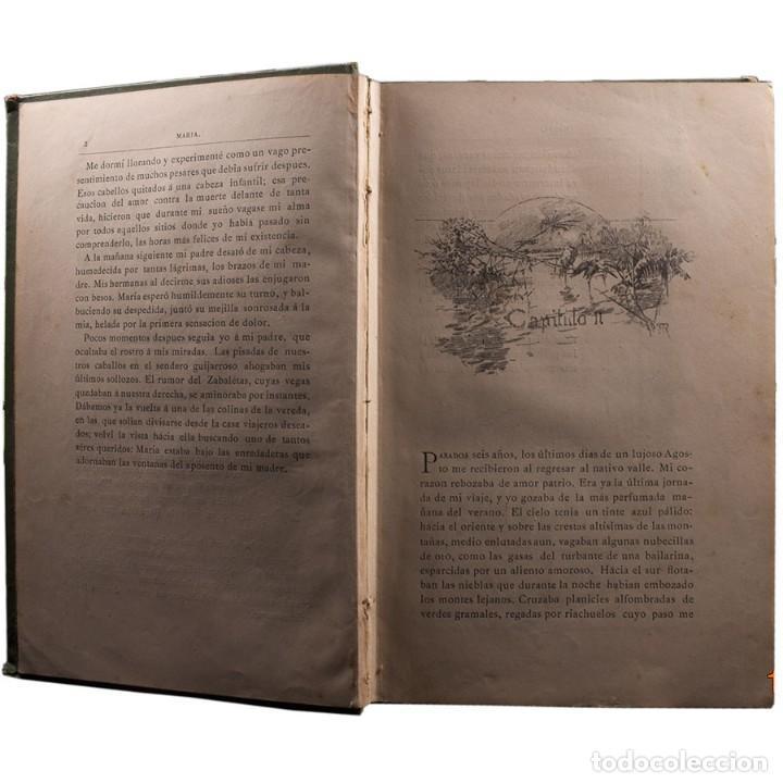 Libros antiguos: LIBRO ANTIGUO. JORGE ISAACS. MARIA. 1882 - Foto 3 - 194884907