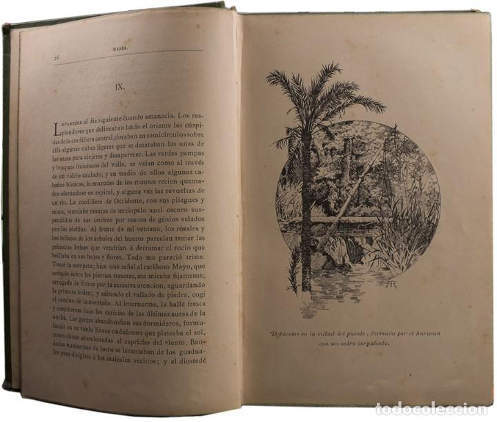 Libros antiguos: LIBRO ANTIGUO. JORGE ISAACS. MARIA. 1882 - Foto 4 - 194884907