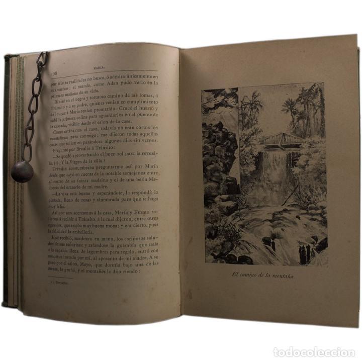 Libros antiguos: LIBRO ANTIGUO. JORGE ISAACS. MARIA. 1882 - Foto 6 - 194884907