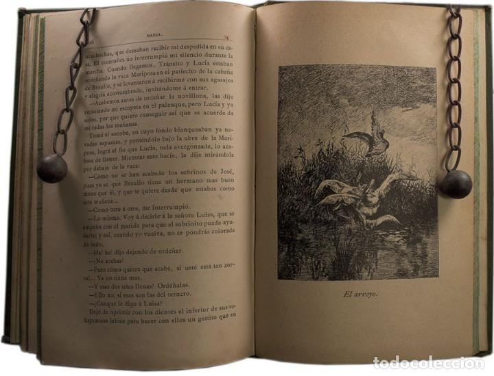 Libros antiguos: LIBRO ANTIGUO. JORGE ISAACS. MARIA. 1882 - Foto 7 - 194884907